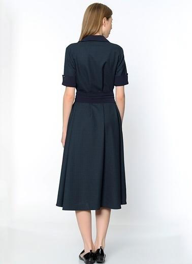 Uzun Gömlek Elbise-Utopian